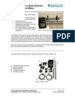 Panametrics Ultrasonic Flowmeter