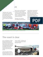 KOM Magazine Article Sporting Spirit