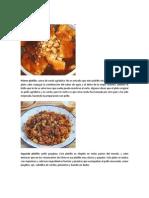 Los platos más populares