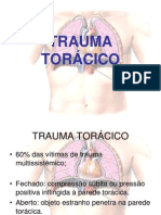TRAUMA TORÁCICO