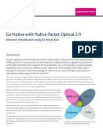 Native Packet Optical 2.0