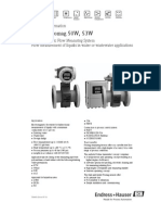Electromagnetic Flow Measuring System