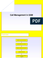 Call Management in GSM