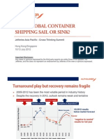 Will Container Shipping Sail or Sink