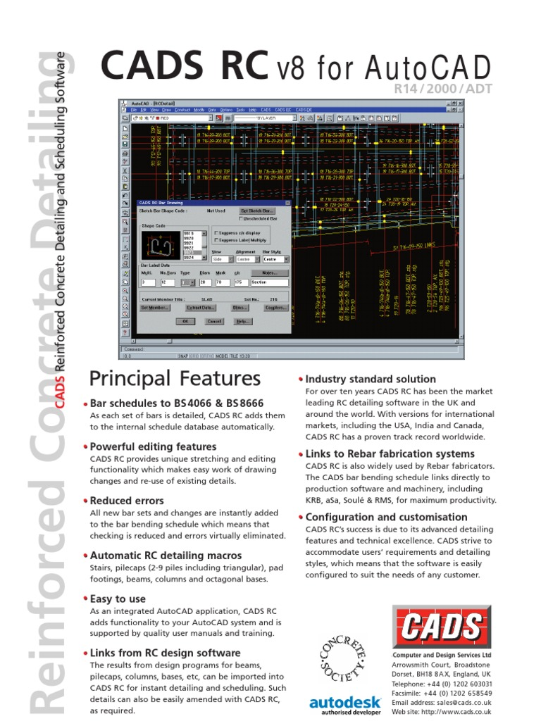 cads rc | Computer Aided Design | Auto Cad