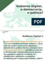 Taller Politica y Democracia - Por Alejandro Prince