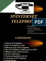 IP Internet Telephony