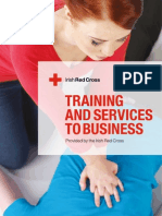 First Aid Training Brochure