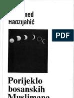 MUHAMED HADZIJAHIC Porijeklo Bošnjaka