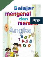 Belajar Mengenal dan Menulis Angka 123