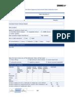 NIOSH Deepwater Horizon on Shore Exposure Assessment Data Collection Form
