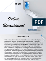 Online Recruitment Presentation