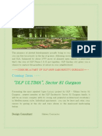Book in dlf ultima coming soon sector 81 new project. @8826997787