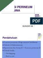 Laserasi Perineum Dan Vagina