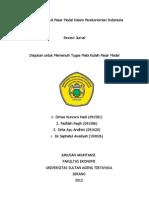 Dominasi Asing Di Pasar Modal Dalam Perekonomian Indonesia