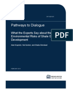 Pathways to Dialogue by Alan Krupnich, Hal Gordon, and Sheila Olmstead, Resources for the Future, February 2013