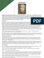 ARISTÓTELES e ptolomeu