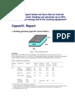 Capsol Sample Calculation