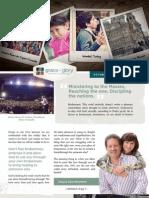 Grace & Glory Ministries 2012 Newsletter