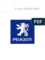 Peugeot - Failure & Re-Entry Strategy