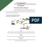 LECTURA 06 Proceso de Produccion de Papel
