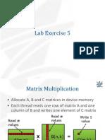 L5 - MatrixMultiplication