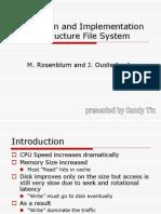 Log StructureFS