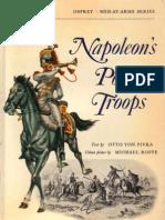 Osprey, Men-At-Arms #045 Napoleon's Polish Troops (1974) BM OCR 8.00
