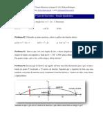 3ª Lista de Exercícios -Função quadrática_2011