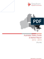 Greythorn Australia Salary Survey and Market Report 2012-2013
