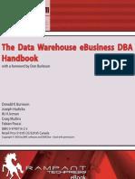 The Data Warehouse eBusiness DBA Handbook 2003