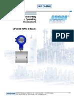 Krohne Ufc030 (Ufc 3 Beam)(Ing)