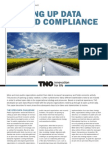 Opening Up Data Beyond Compliance TNO White Paper