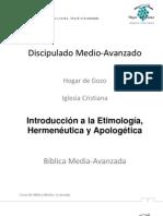Introduccion a La Hermeneutica Biblica