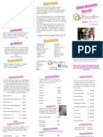 Balloon Price List Leaflet