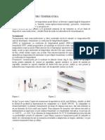 Senzori Si Traductoare - Indrumar de Laborator