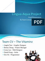 Lingua Aqua Final Prototype Presentation