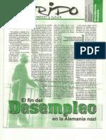 Revista Ns Sigfido El Fin Del Desempleo en La Alemania Nazi