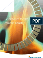 Refractories for the Cement Industry