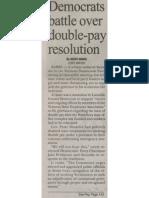11062011 Dems Double Pay Battle