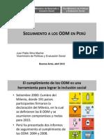 07 - [SLIDES] Viceministro de Políticas y Evaluación Social - Seguimiento a los ODM en Perú (2012).pdf