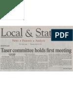 05262011 Taser First Meeting