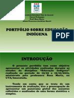 PORTFÓLIO SOBRE EDUCAÇÃO INDÍGENA