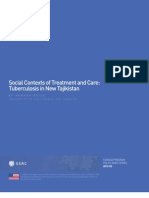 Social Contexts of Treatment and Care