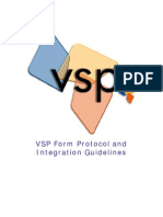 Vs p Form Protocol and Integration Guideline