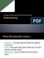 proiect astronomie