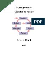 Manual Managementul Ciclului de Proiect