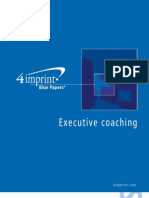 Executive Coaching Blue Paper by promotional products retailer 4imprint