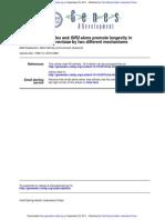 Genes Dev. 1999 Kaeberlein 2570 80