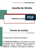 TEORIAS DA JUSTIÇA